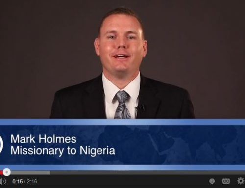 Missions Moment: Fruitful Ministry Updates from Mark Holmes
