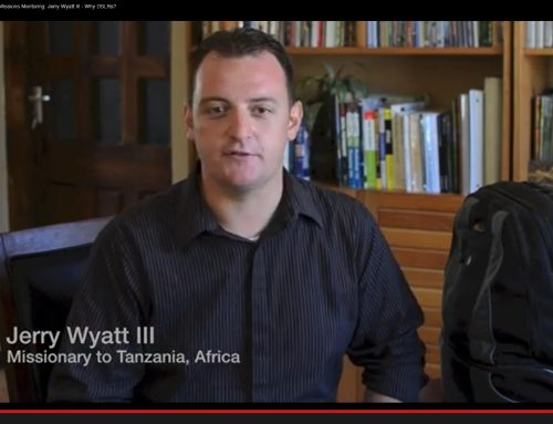 Missions Mentoring: Jerry Wyatt III – Why DSLRs?