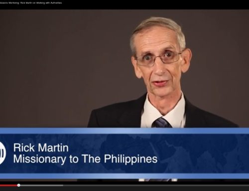 Missions Mentoring: Rick Martin on Working With Authorities