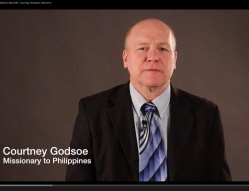 Missions Moments: Courtney Godsoe's Testimony