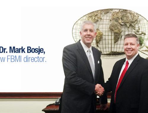 Meet Our New Director, Dr. Mark Bosje