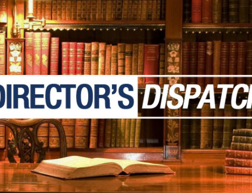 Director's Dispatch: New Year, Candidate School, & More