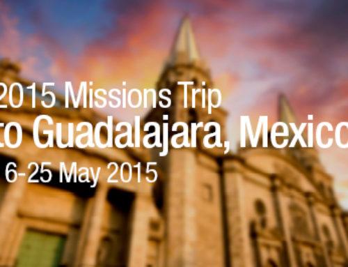 Dan Siemer Prayer Letter: Guadalajara, Mexico, Trip!