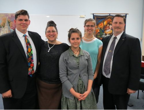 Ron Back Prayer Letter:  Absolute Whirlwind of Activty