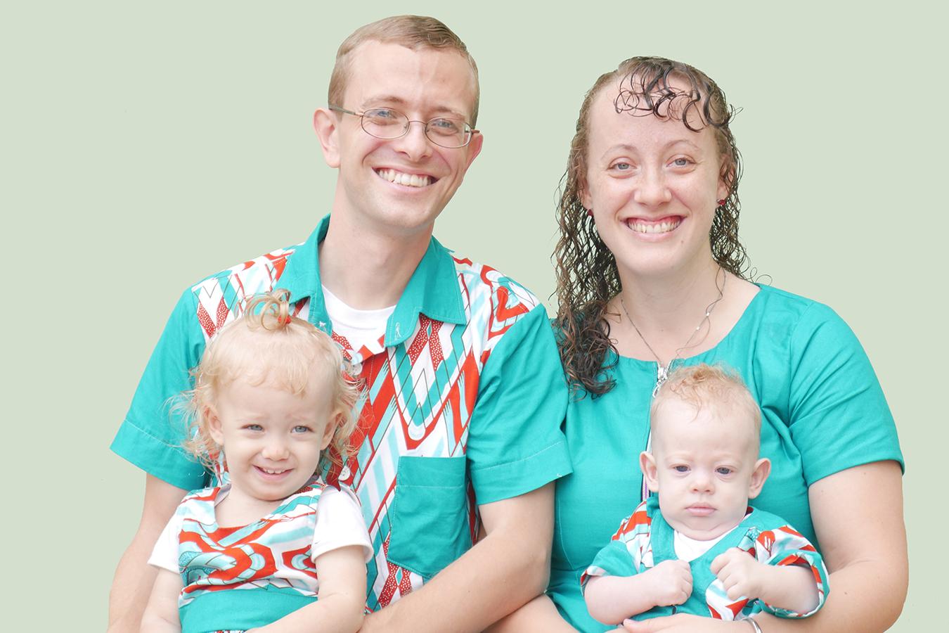Micah Christiansen Family