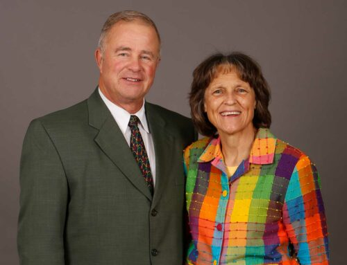 George and Barbara Zarris Prayer Letter:  I Once Was Blind!