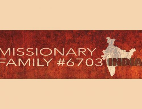 "Missionary #6703 Prayer Letter:  A Prayer for ""My Children"""