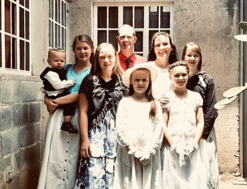 Daniel and Misty Wilder Prayer Letter:  The Difference a Change of Clothes Makes