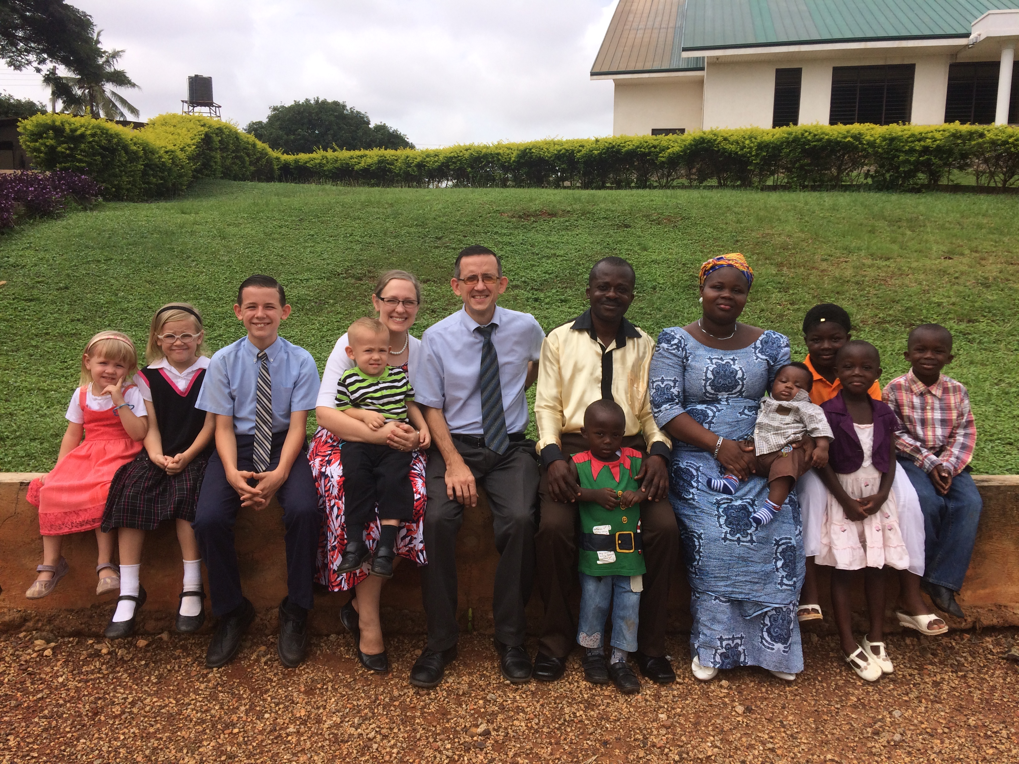 The Sarver and Frimpong Families