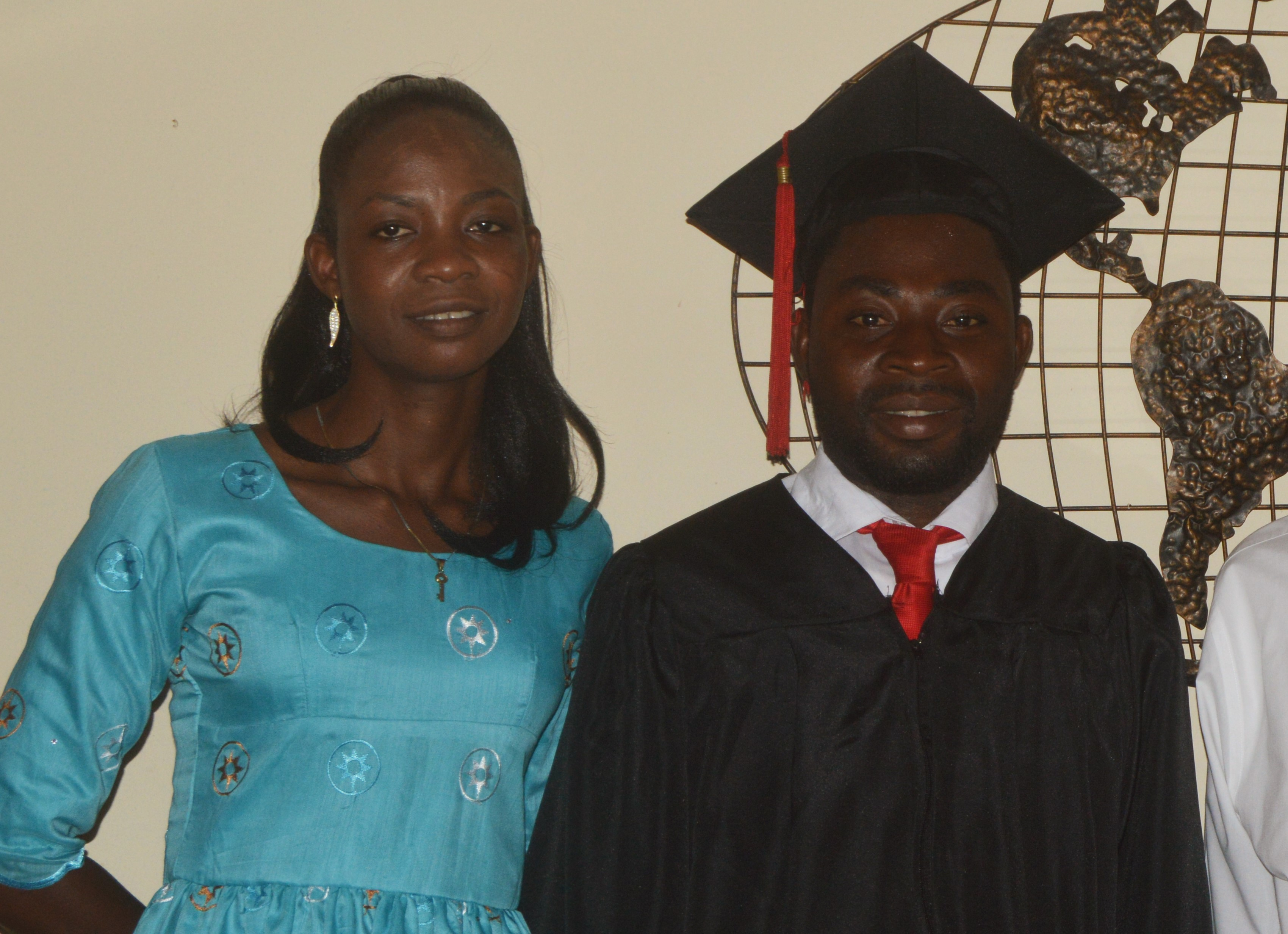 James and Patience Adjabeng