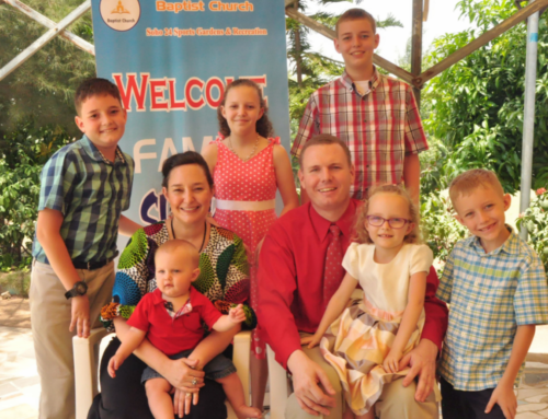 Mark and Sabrina Holmes Prayer Letter:  Revivals and Projects