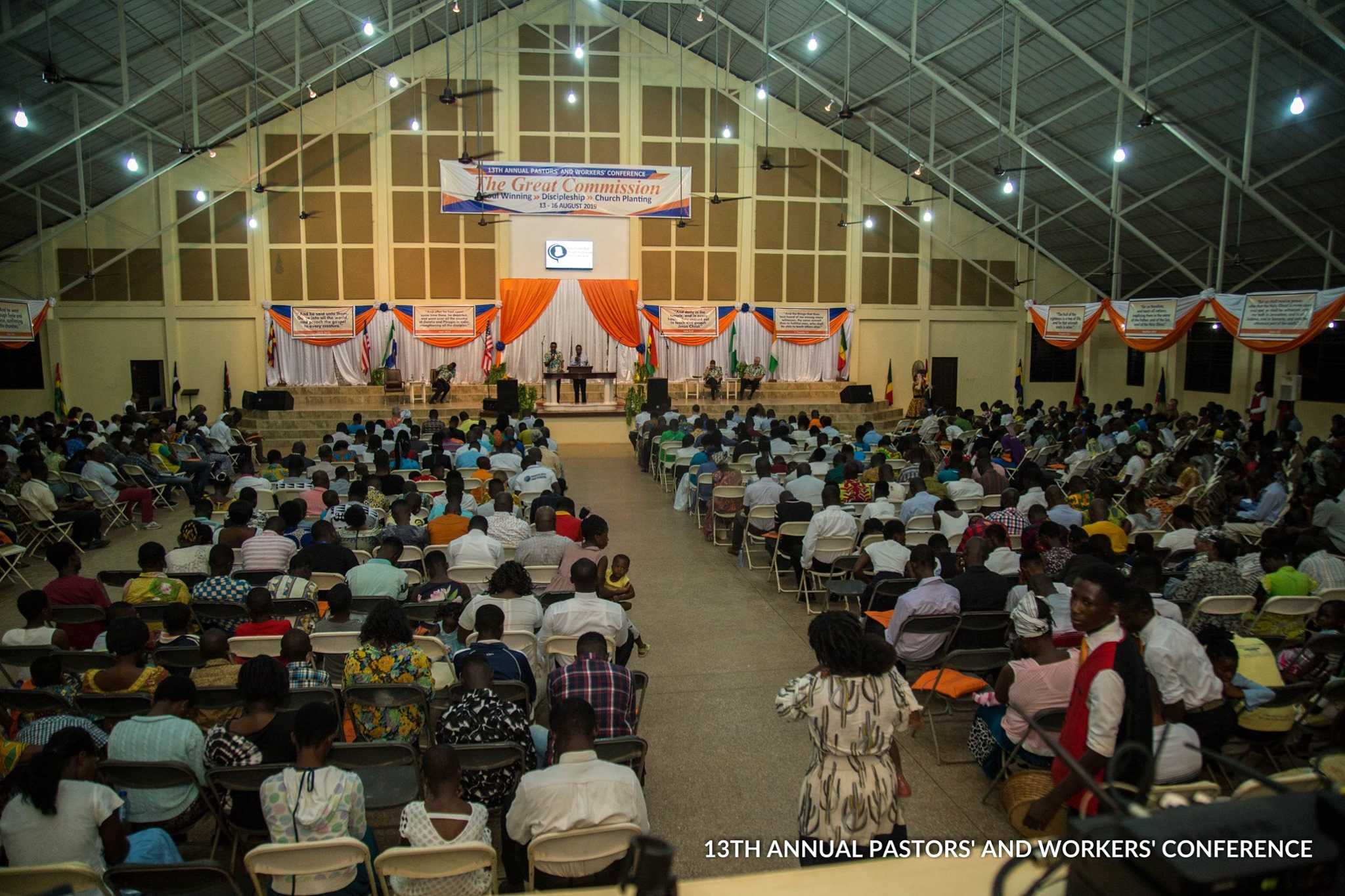 Opening Service - Pastors' and Workers' Conference 2019 - Kumasi, Ghana