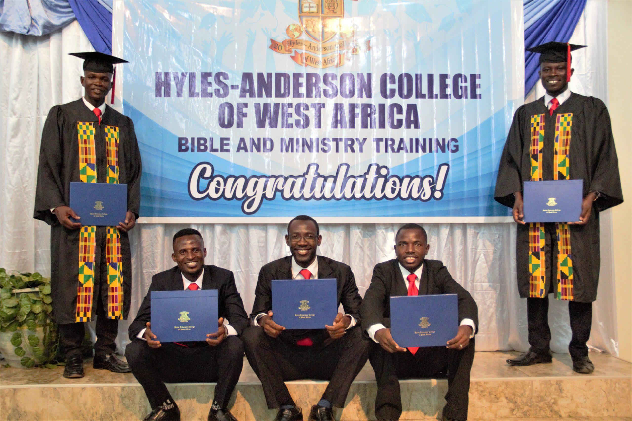 Five Bible College Graduates