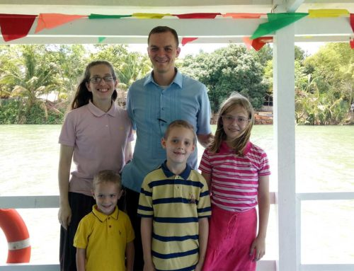 Mike and Ruth Morrissey Prayer Letter:  Running for God . . . and Buying Property While We're at It!