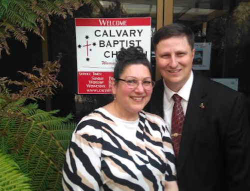 Ron and Laura Back Prayer Letter:  Soul Winning, Food Bank, Upcoming Revival