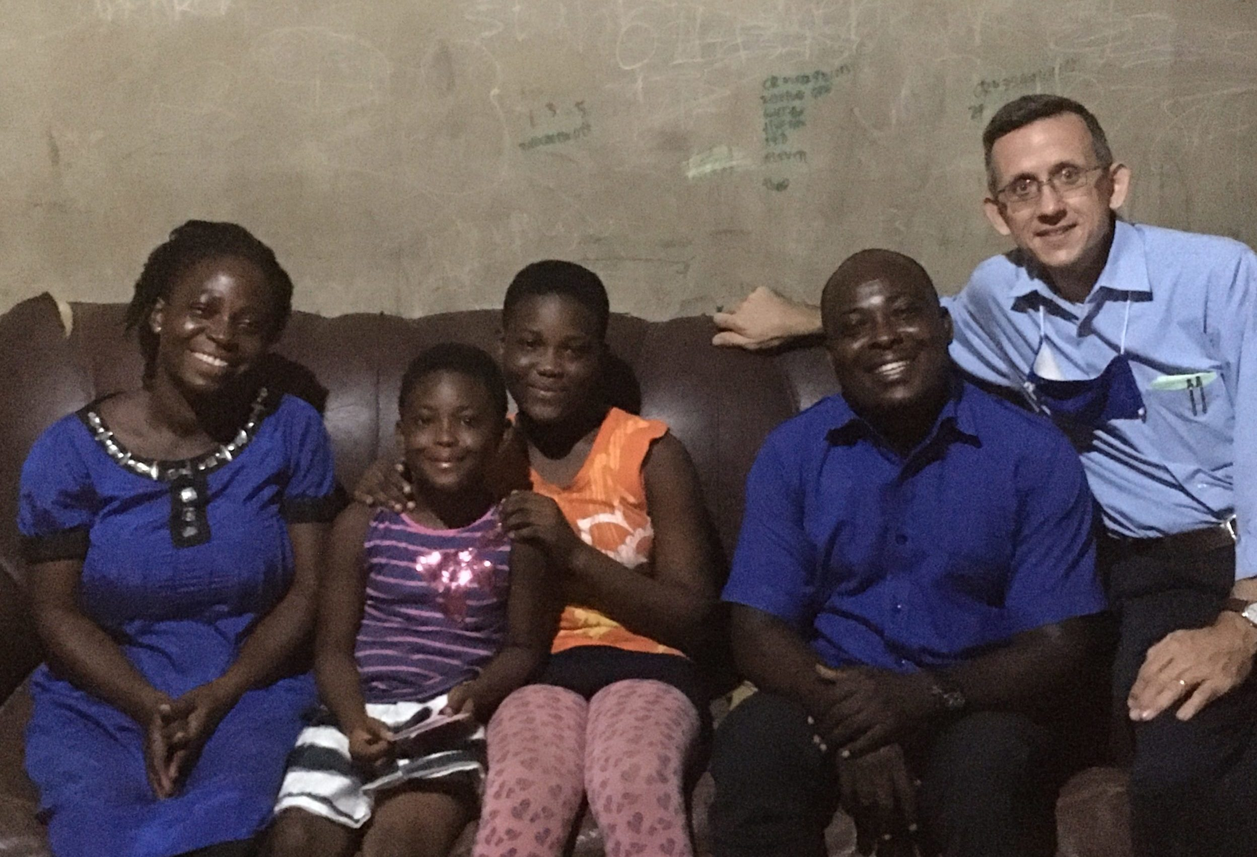 family reached with the Gospel