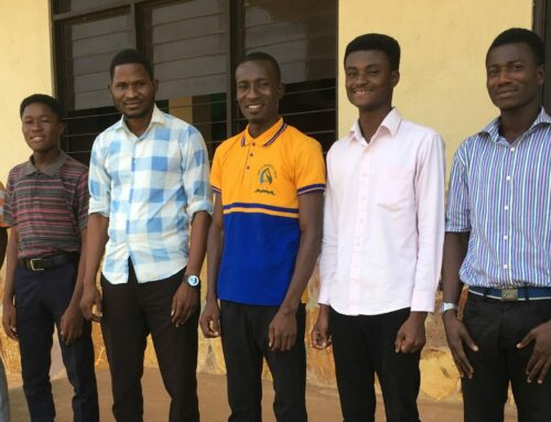 Team Ghana Update:  New Bible College Students
